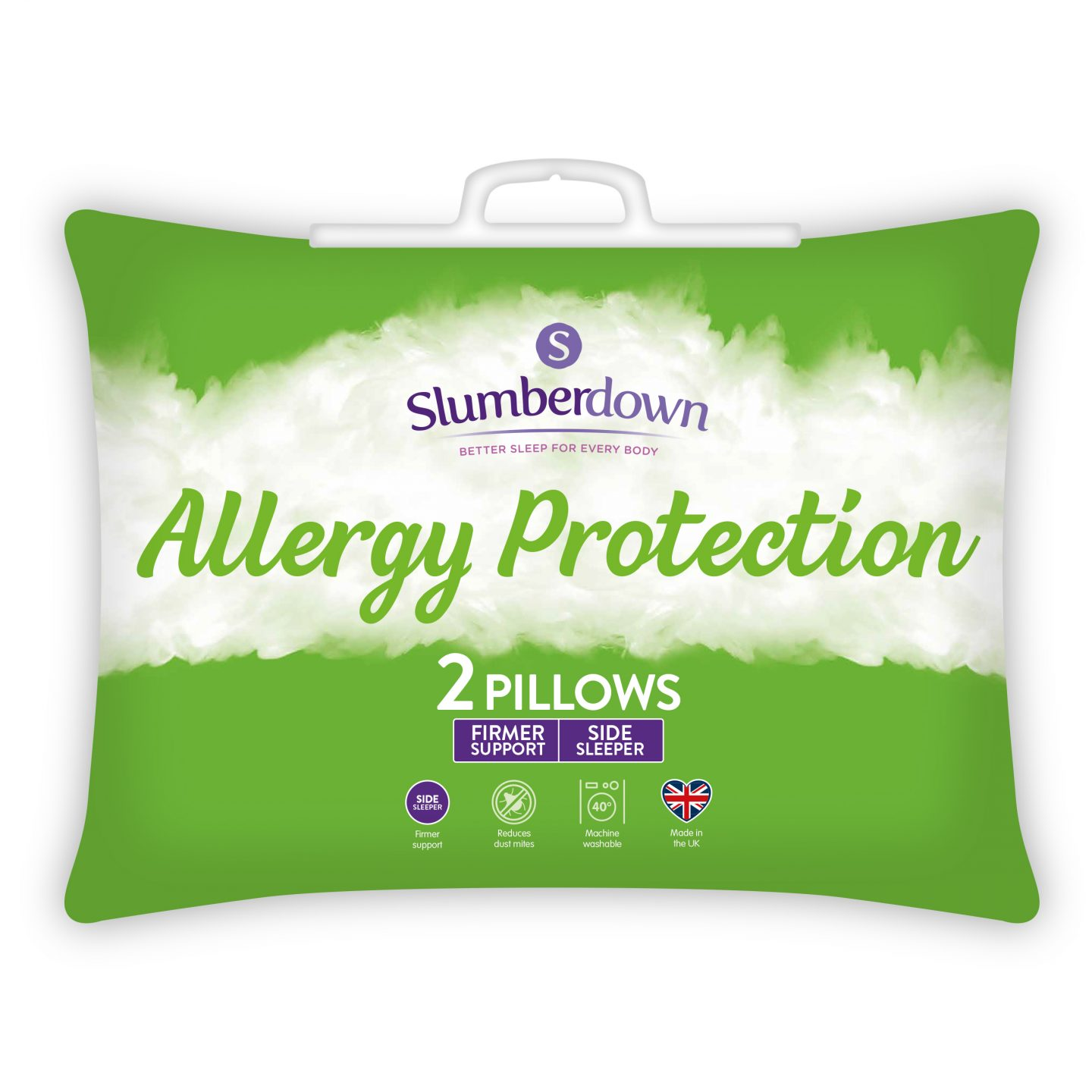 Anti Allergy Firmer Support Pillow